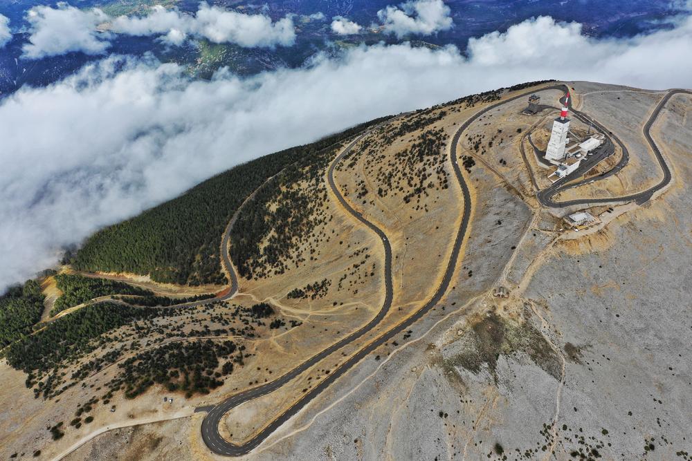 strade moto gran turismo: Mont Ventoux, Provenza