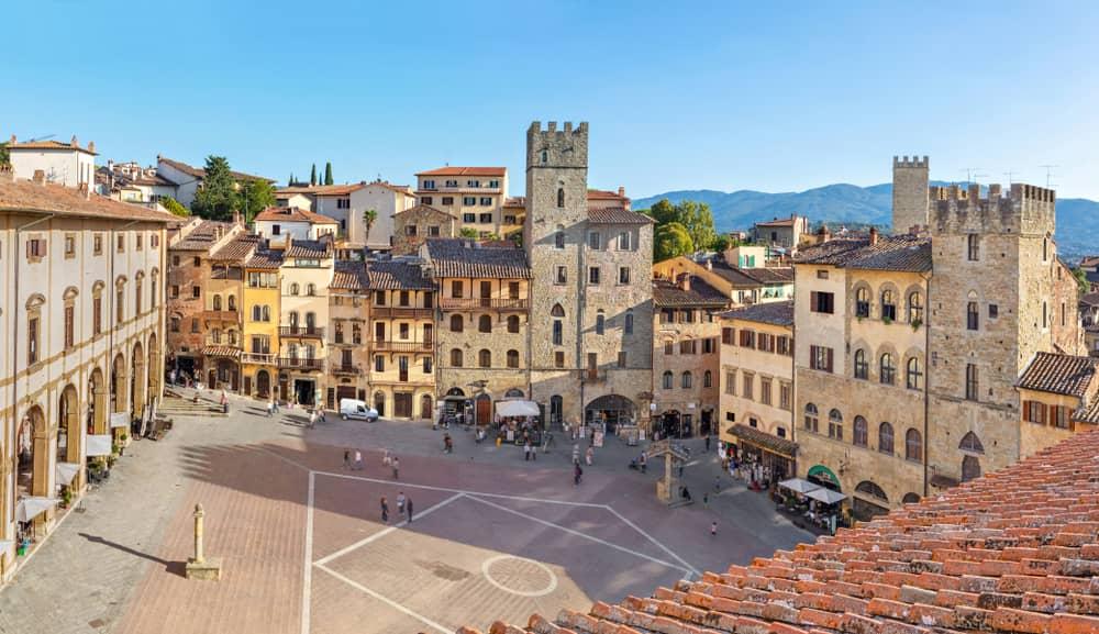 Val di Chiana, Arezzo, Piazza Grande