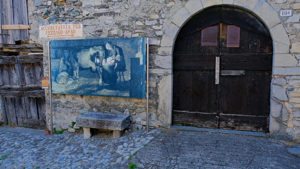Caglio, quadro Giovanni Segantini