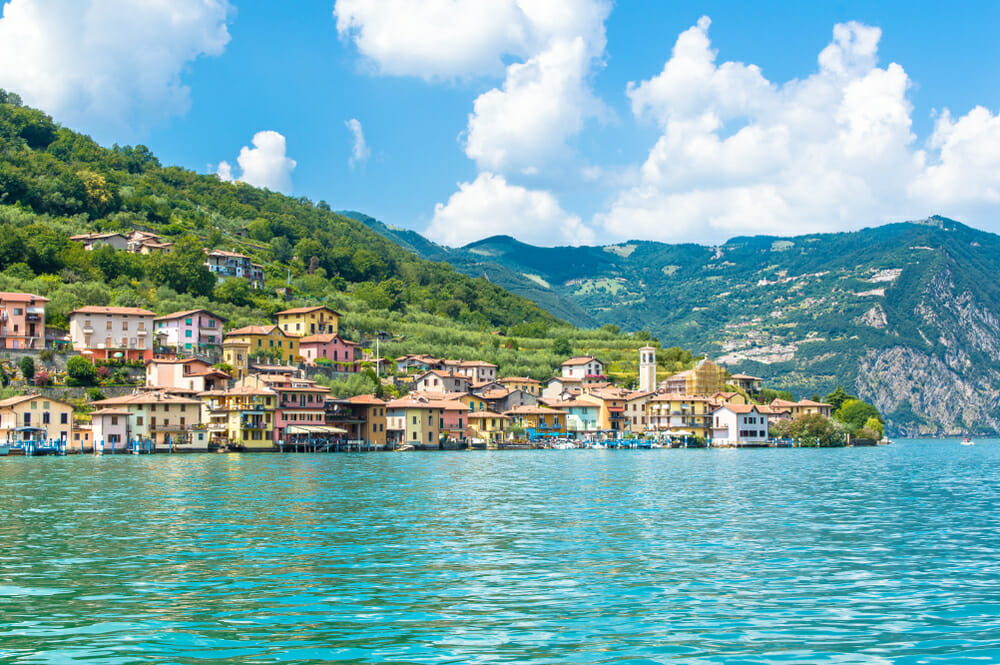 Spiagge Lago d'Iseo, Monte Isola